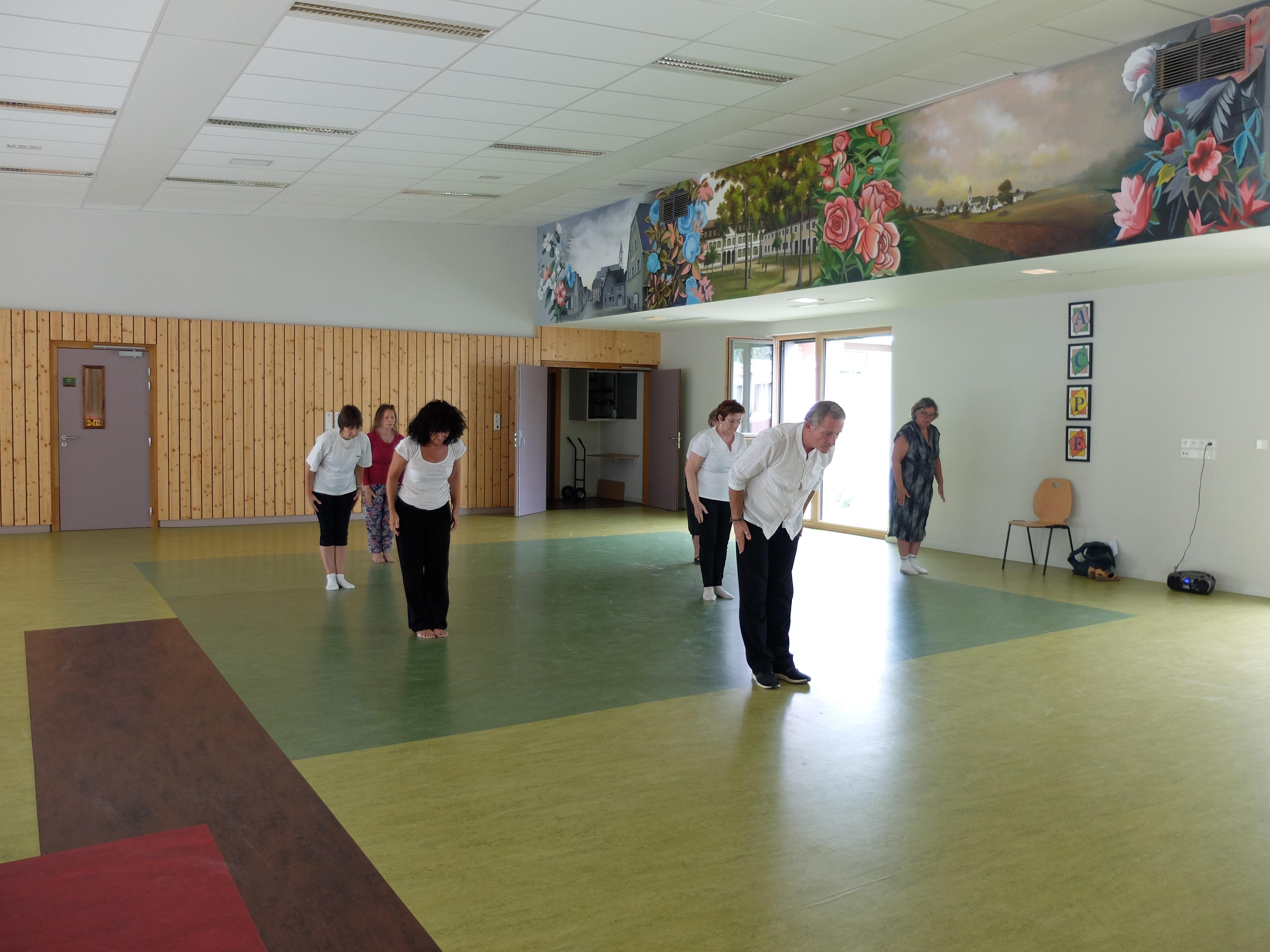 Portes ouvertes Juin 2017 Qi Gong